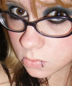 Whoo look at me I have piercings!