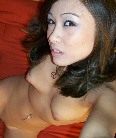 Candid picture gallery of a gorgeous Mixed Asian girl