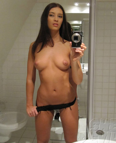 Nude in the mirror