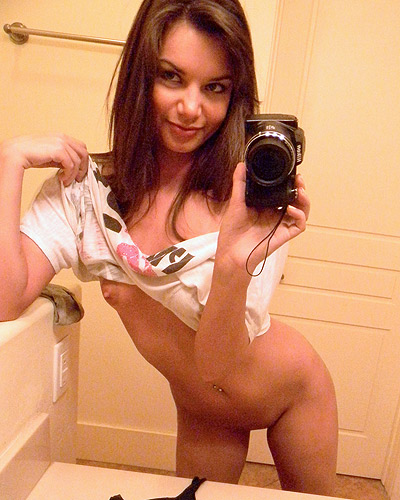 Self shot girl Amber